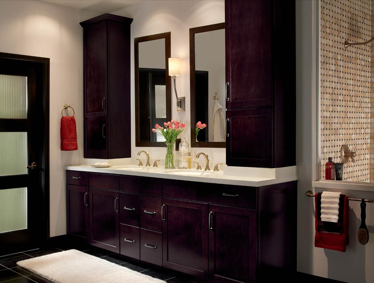 Waypoint Bathroom Style 410S in Maple Espresso
