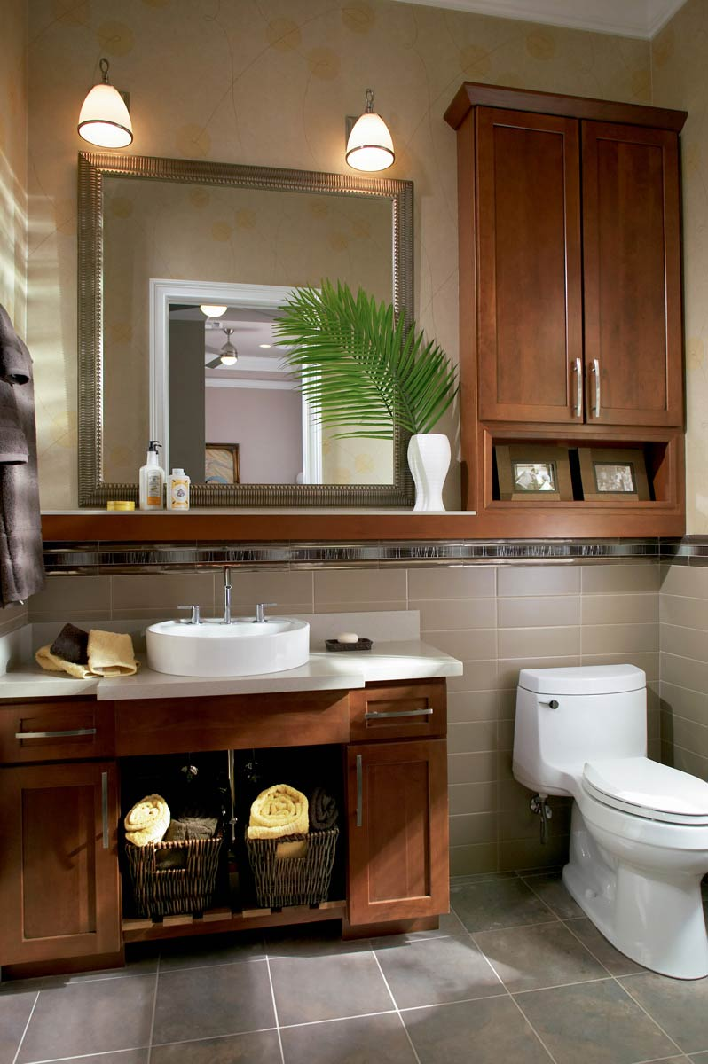 Waypoint Bathroom Style 630F in Cherry Chocolate Glaze