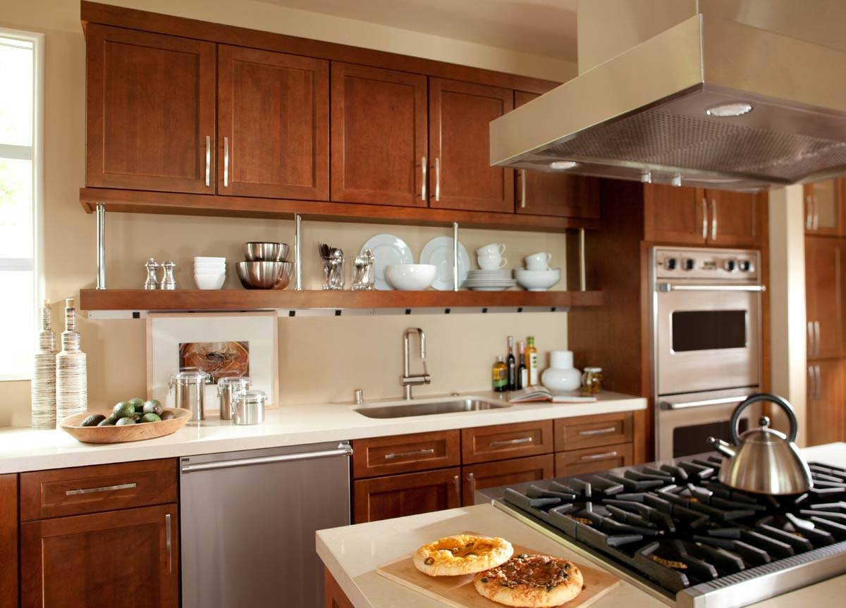 Waypoint Kitchen Style 630F in Cherry Spice