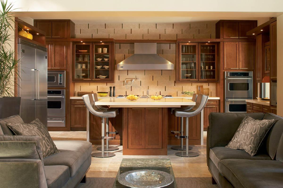 Waypoint Kitchen Style 630F In Cherry Chocolate Glaze Part 35