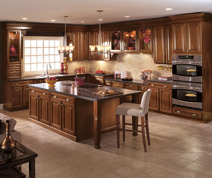 Aristokraft Kitchens - Different woods for kitchen cabinets