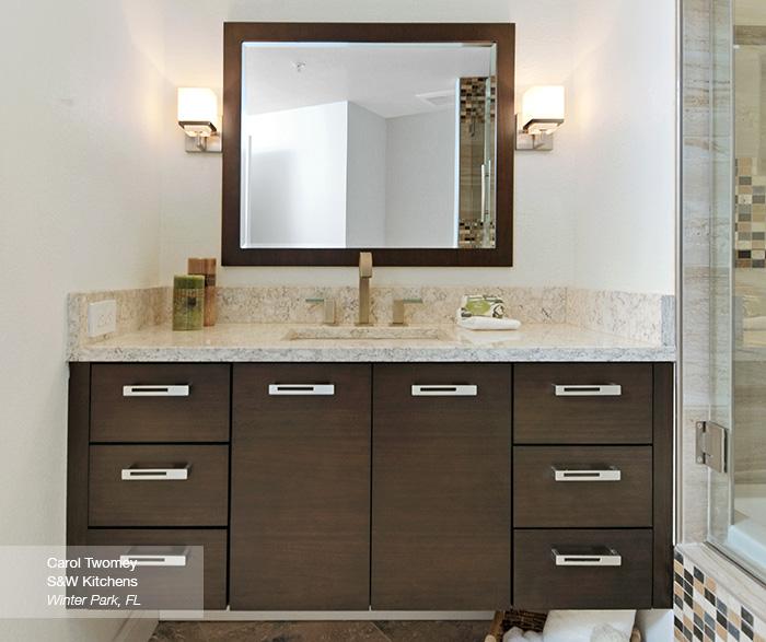 Serendipity Refined Blog Contemporary Apartment Small Bath Makeover: Omega Bathrooms