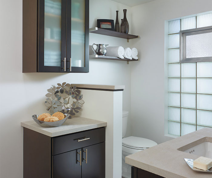 bathrooms with black cabinets aristokraft bathrooms 11898