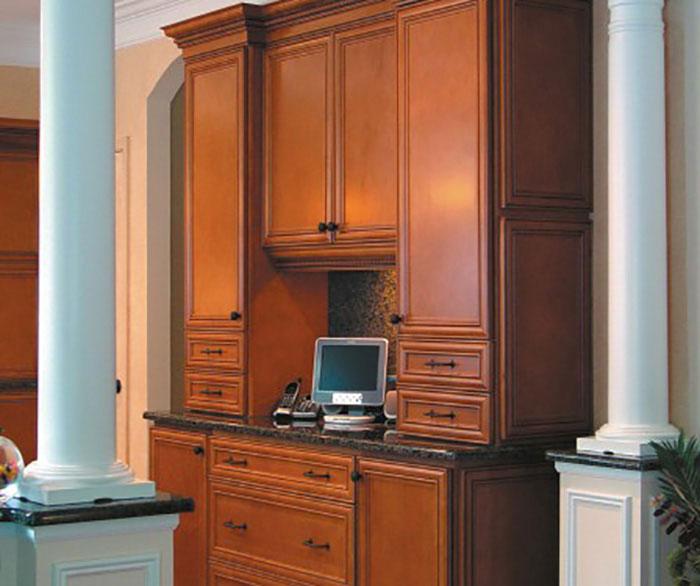 Glazed Maple Kitchen Cabinets: Homecrest Kitchens