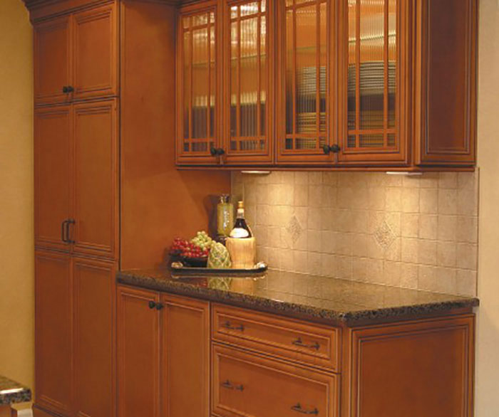 Glazed Kitchen Cabinets: Homecrest Kitchens