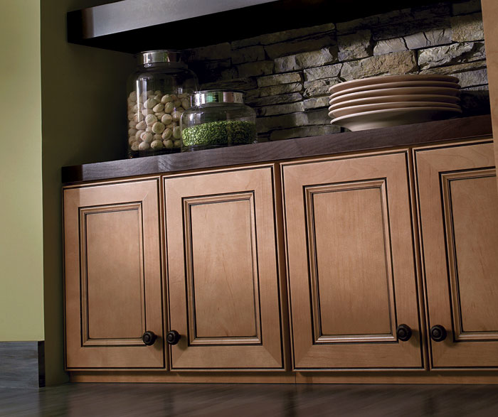 Kitchen Cabinets Stained Light: Homecrest Kitchens