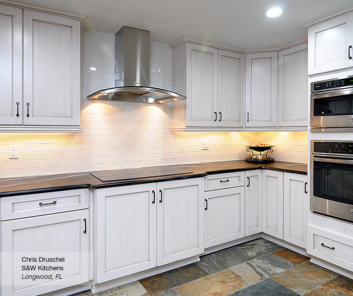 Pearl White Shaker Style Kitchen Cabinets 3 Casa Amazonas Lancaster California