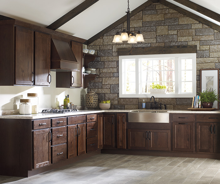 Rustic Kitchen Cabinets Casa Amazonas Lancaster California