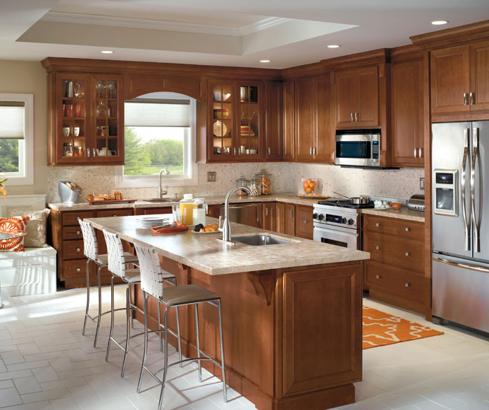 Kitchen Remodel Cherry Cabinets: Homecrest Kitchens
