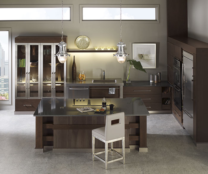 Walnut Kitchen Cabinets Casa Amazonas Lancaster California