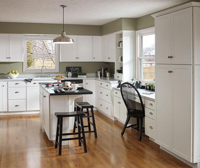 white shaker kitchen cabinets aristokraft kitchen cabinets  u2013 avie home  rh   aviemorewalking com