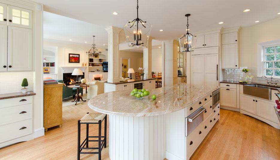 Crystal Kitchen French Villa Square Brushing 05 Casa Amazonas Lancaster California