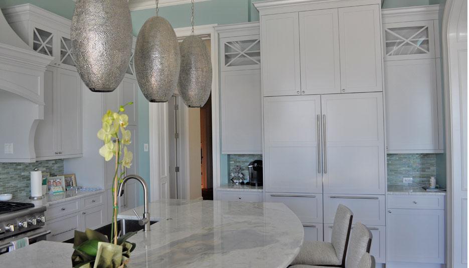 Crystal Kitchen Grey Regent 03 Casa Amazonas Lancaster California
