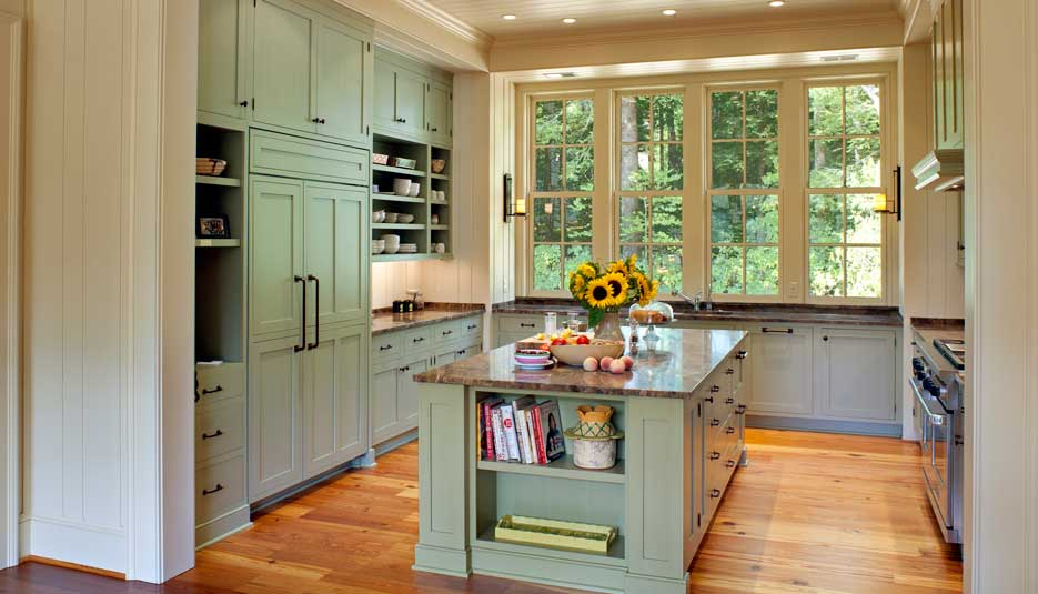 Crystal Kitchen Traditional Regent Brushing 02 Casa Amazonas Lancaster California